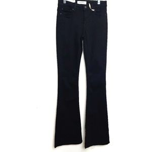 Zara Woman | NWT The Skinny Flare Black Jeans